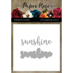 Paper Rose Dies Sunshine Layered - PR17463