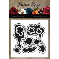 Paper Rose Dies Mermaid Magic - PR17434