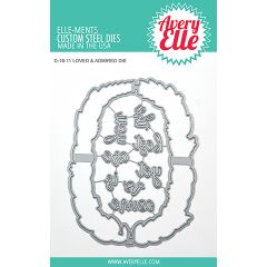 Elle Ments Dies Loved & Admired - D1811