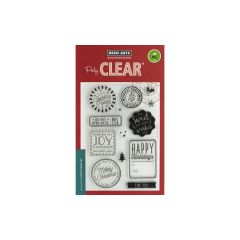 Hero Arts Clear Stamp Holiday Badges