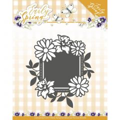 Find It Trading Precious Marieke Early Spring Die Spring Flowers Square Label - PM10113