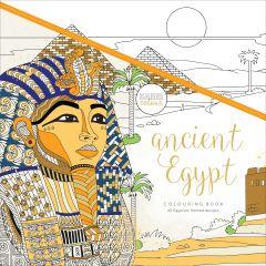 "Kaisercolour Perfect Bound Coloring Book 9.75""X9.75"" Ancient Egypt - CL530"