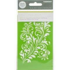 "Kaisercraft Mini Designer Templates 3.5""X5.75"" Fancy Flourish - IT036"