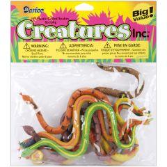 Creatures Inc. Snakes 8/Pkg - 1029-05