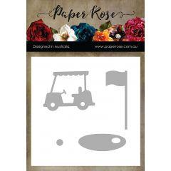 Paper Rose Dies Golf Accessories - PR16921