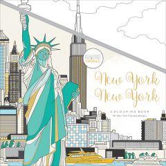 "Kaisercolour Perfect Bound Coloring Book 9.75""X9.75"" New York - CL552"