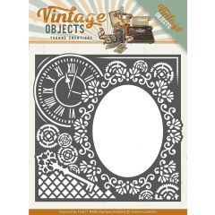 Find It Trading Yvonne Creations Vintage Objects Die Endless Times Frame - YCD10132