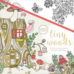 """Kaisercolour Perfect Bound Coloring Book 9.75""""X9.75"""" Tiny Woods - CL505"""