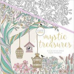 "Kaisercolour Perfect Bound Coloring Book 9.75""X9.75"" Mystic Treasures - CL510"