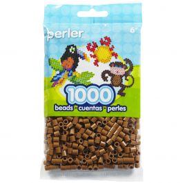 Perler Beads 1,000/Pkg Light Brown - PBB80-19-19021