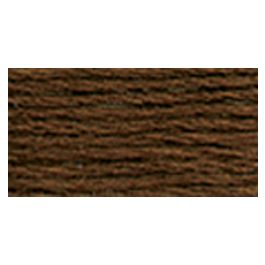 Dmc Pearl Cotton Ball Size 8 87Yd Very Dark Coffee Brown - 116 8-898