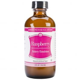 Bakery Emulsions Natural & Artificial Flavor 4Oz Raspberry - 0806-0764