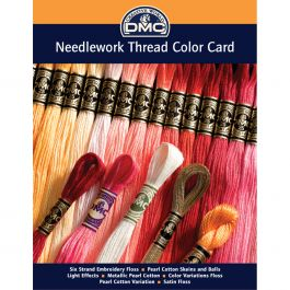 Dmc Needlework Threads Printed Color Card  - COLORCRD