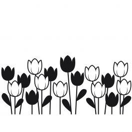 """Embossing Folder 4.25""""X5.75"""" Spring Tulip - EB12-18-44"""