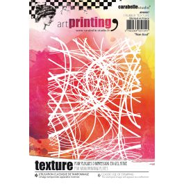 Carabelle Studio Art Printing A6 Rubber Texture Plate Nonwoven - AP60007