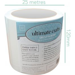 "Ultimate Crafts Diecut'N Bond Double Sided Tape 4.72""X82' Clear - 157644"