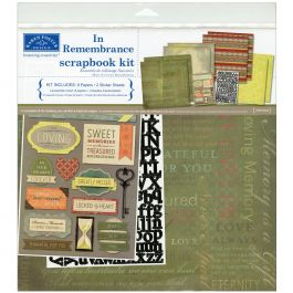 "Karen Foster Scrapbook Page Kit 12""X12"" In Remembrance - KF20524"