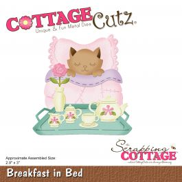 "Cottagecutz Die Breakfast In Bed 2.9""X3"" - CC453"