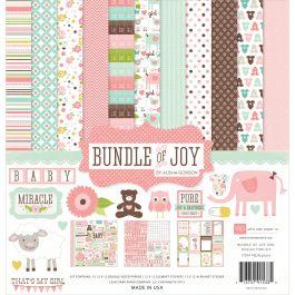 "Echo Park Collection Kit 12""X12"" Bundle Of Joy Girl - BJG45016"