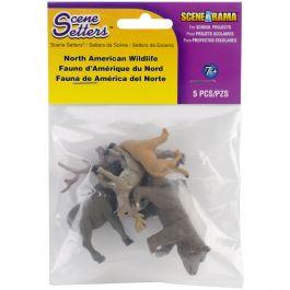 Scene Setters(R) Figurines North American Wildlife 5/Pkg - SP4449