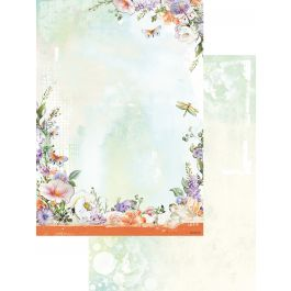 So Spring Double Sided Cardstock A4  - BASIS253