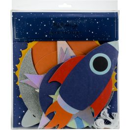 My Mind'S Eye Hanging Decor Kit 12/Pkg Space - RKP602