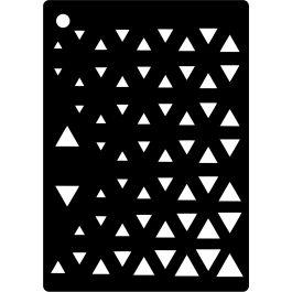 Creative Expressions Mini Stencil Triangles - CEMS-TRIAN