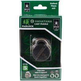 Hanayama Cast Puzzles Padlock Level 5 - HANAYAMA-30868
