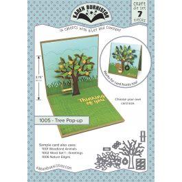 Karen Burniston Dies Tree Pop Up - KBR1005
