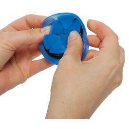 "The Nest 2.5"" Round Earbud Case Blue - NEST-00500"