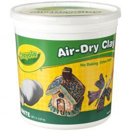 Crayola Air Dry Clay 5Lb White - 57-5055