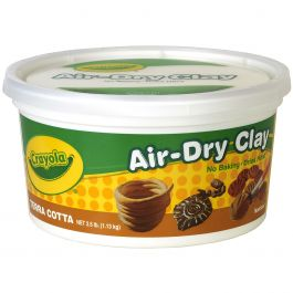 Crayola Air Dry Clay 2.5Lb Terra Cotta - 57-5064