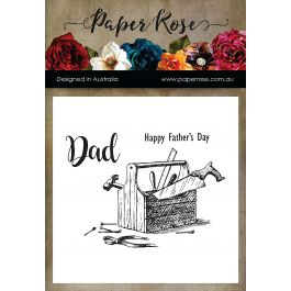 Paper Rose Clear Stamps Toolbox - PR17481