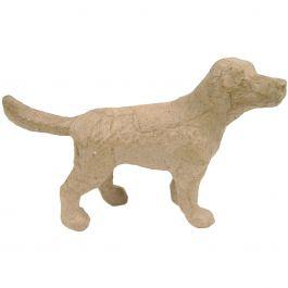 """Paper Mache Figurine 4.5"""" Dog - AP-585"""