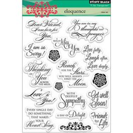 Penny Black Clear Stamps Eloquence - PB30162