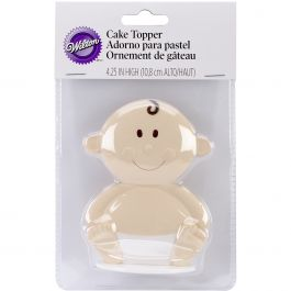 """Cake Topper 4"""" Baby Face - W1006257"""