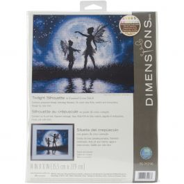 "Dimensions Counted Cross Stitch Kit 14""X11"" Twilight Silhouette (14 Count) - 70-35296"