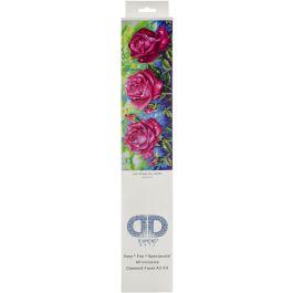 "Diamond Dotz Diamond Embroidery Facet Art Kit 35.5""13.75"" Les Roses Du Jardin - DD9014"