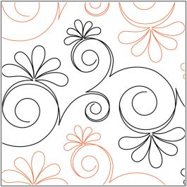Quilt Stencils By Patricia Ritter & Leisha Farnsworth-Chantilly 12""