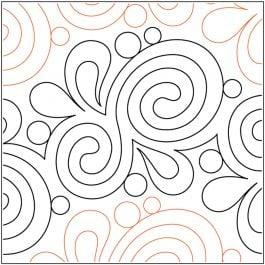 "Quilt Stencils By Patricia Ritter & Leisha Farnsworth-Marmalade 10"""