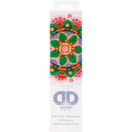 "Diamond Dotz Diamond Embroidery Facet Art Kit 11.5""X13.5"" Flower Mandala - DD3008"