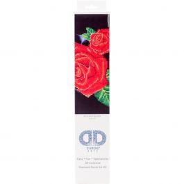 "Diamond Dotz Diamond Embroidery Facet Art Kit 17""X13.75"" Red Rose Sparkle - DD5002"