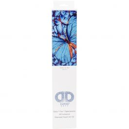 "Diamond Dotz Diamond Embroidery Facet Art Kit 15""X15"" Flutter By Blue - DD5014"
