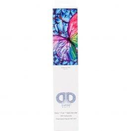 "Diamond Dotz Diamond Embroidery Facet Art Kit 15""X15"" Flutter By Pink - DD5015"