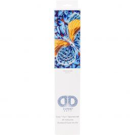 "Diamond Dotz Diamond Embroidery Facet Art Kit 15""X15"" Flutter By Gold - DD5016"