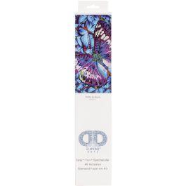 "Diamond Dotz Diamond Embroidery Facet Art Kit 15""X15"" Flutter By Mauve - DD5017"