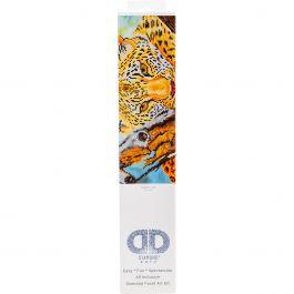 "Diamond Dotz Diamond Embroidery Facet Art Kit 21.75""X17.25"" Leopard Look - DD7002"