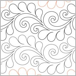"Quilt Stencils By Patricia Ritter & Valerie Smith-Deja Vu 7.5"""