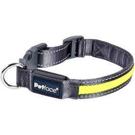 "Petface Flashing Reflective Collar 16"" To 20"" Large - PET30298"