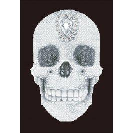 "Diamond Dotz Diamond Embroidery Facet Art Kit 16.5""X20.5""-Crystal Skull"